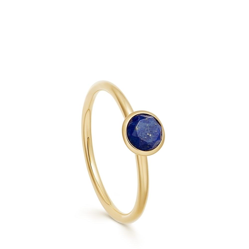 Mini Stilla Lapis Lazuli Ring