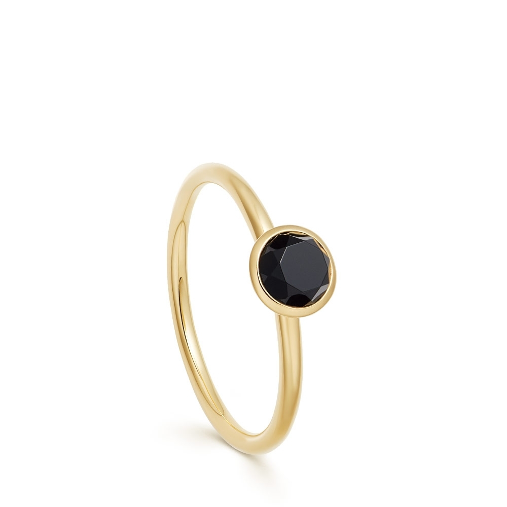 Mini Stilla Black Onyx Ring