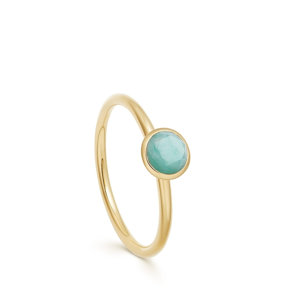 Mini Stilla Amazonite Ring