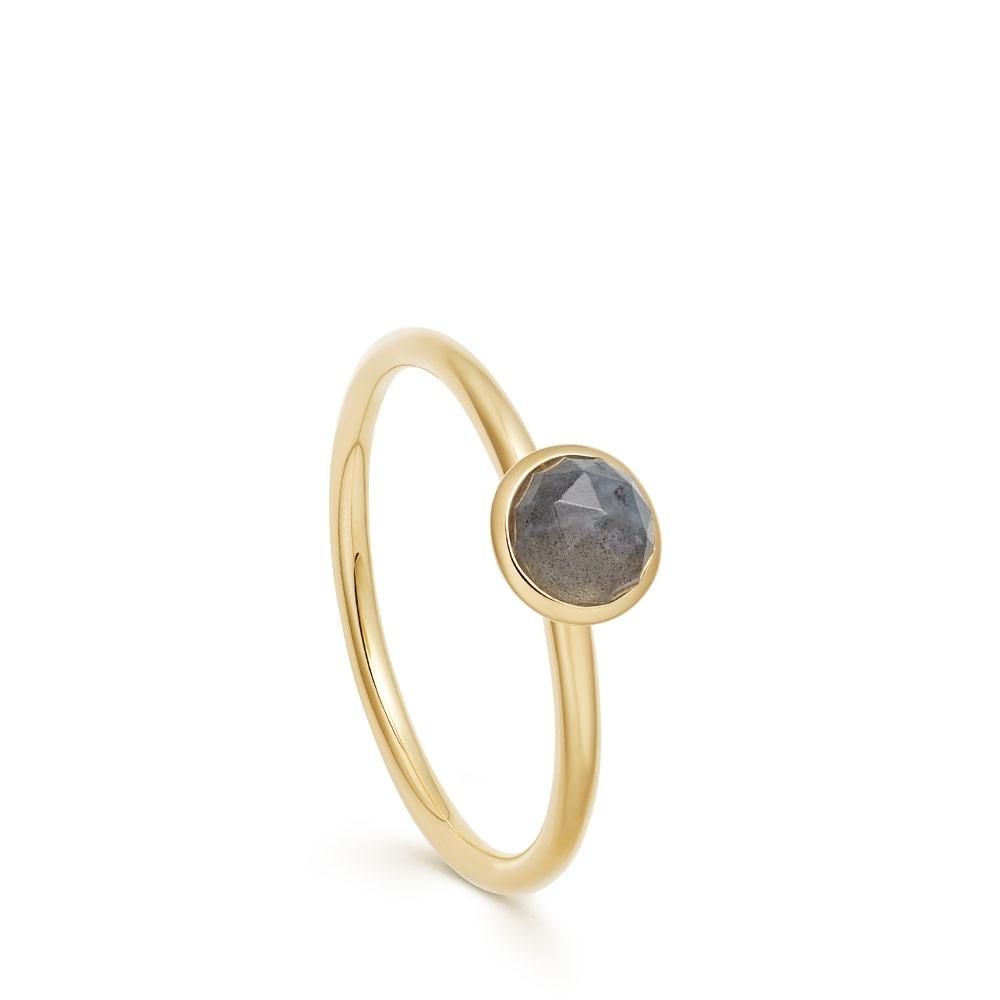 Mini Stilla Labradorite Ring