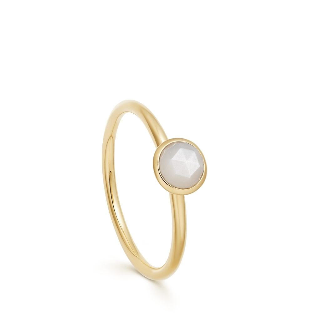 Mini Stilla Moonstone Ring