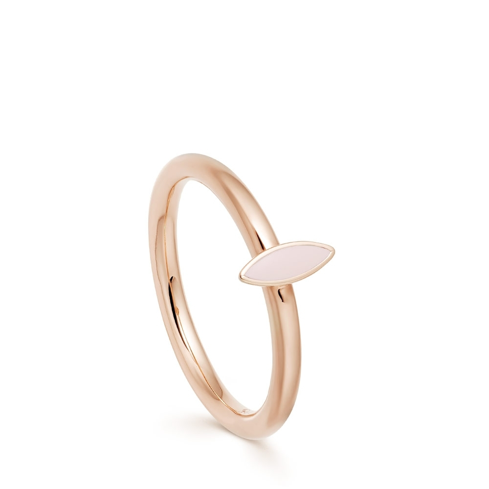 Paloma Petal Rose Gold Ring