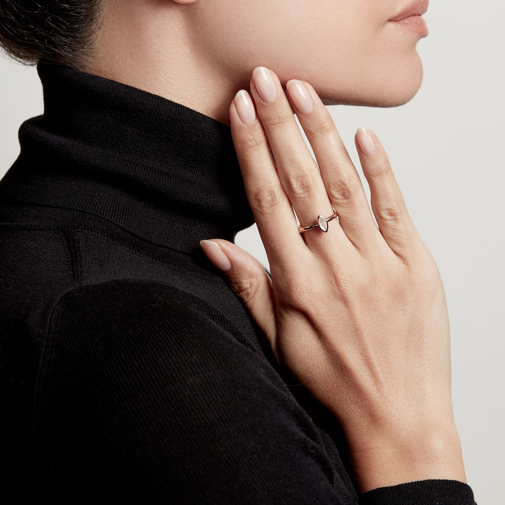 Paloma Petal Moonstone Ring