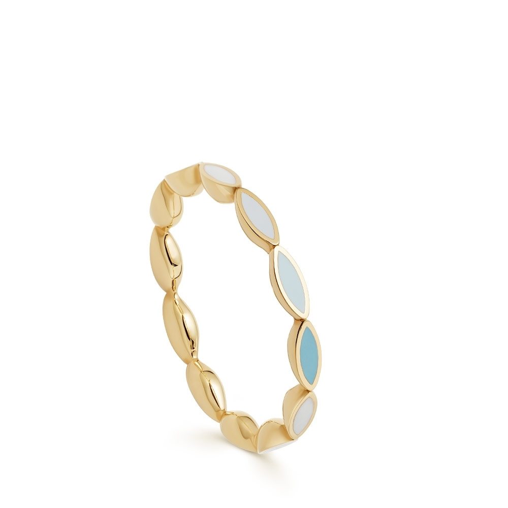 Paloma Petal Gold Eternity Ring