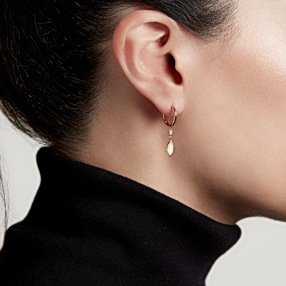 Paloma Petal Drop Earrings