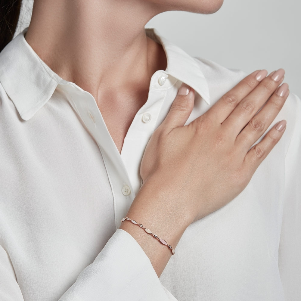 Paloma Petal Rose Gold Bracelet