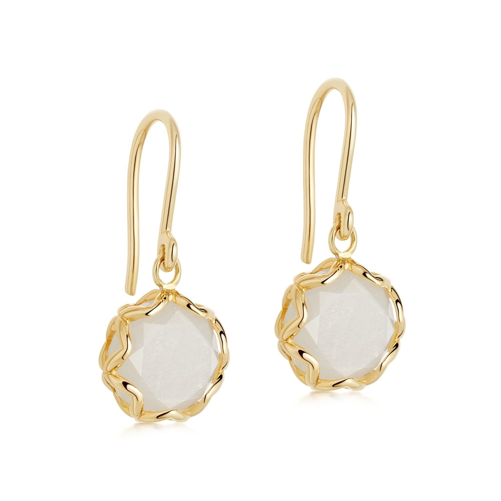 Paloma Moonstone Drop Earrings