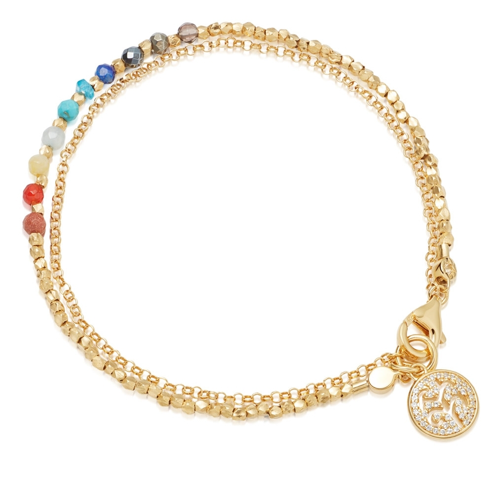 Rainbow Tree of Life Biography Bracelet