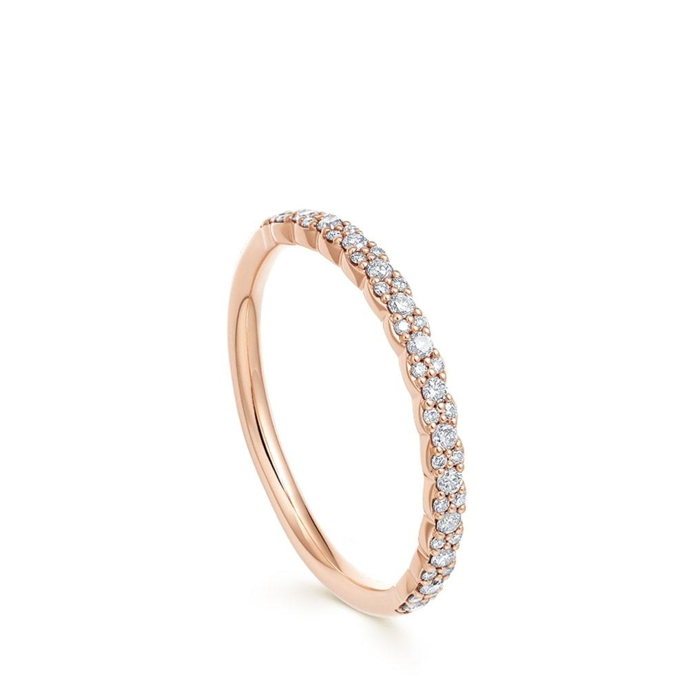 Interstellar Half Diamond Eternity Ring