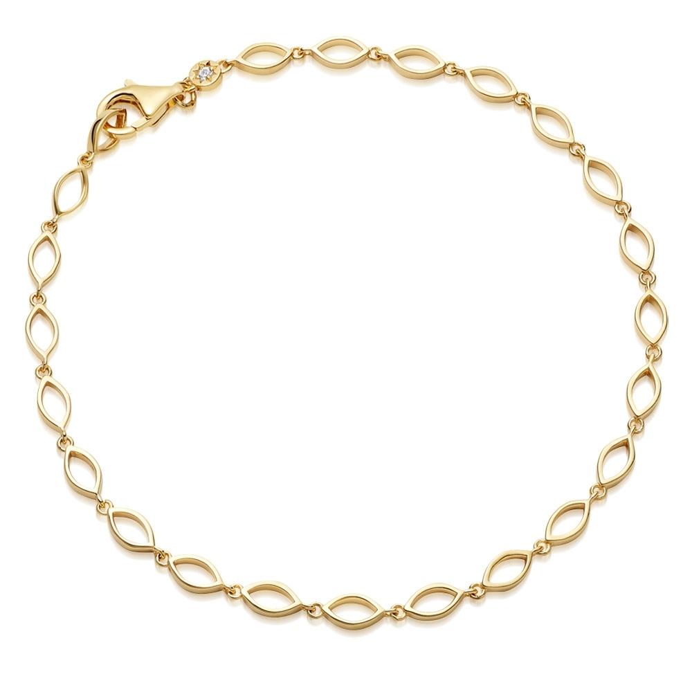 Biography Chain Bracelet