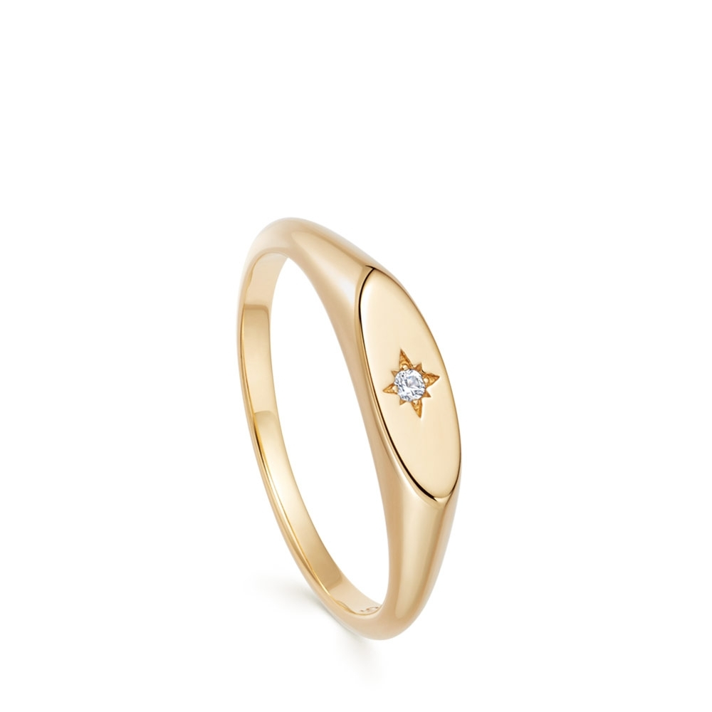Celestial Orbit Signet Ring