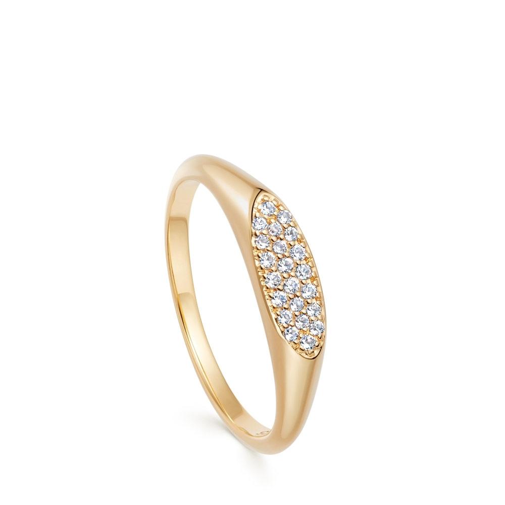 Celestial Astra Signet Ring