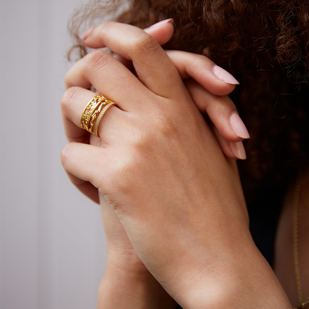 Solstice Stacking Ring