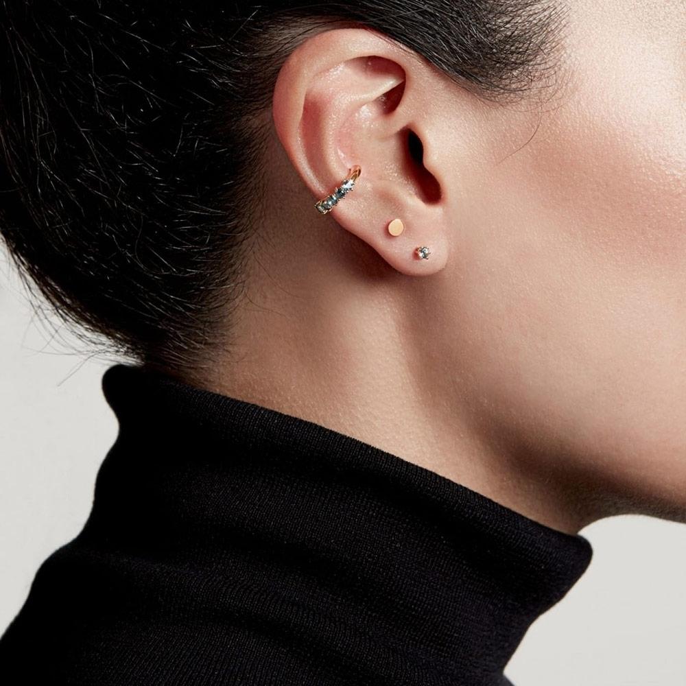 Linia London Blue Topaz Ear Cuff