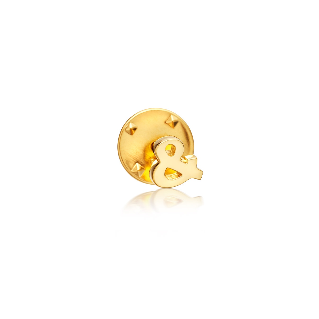 Ampersand Biography Pin