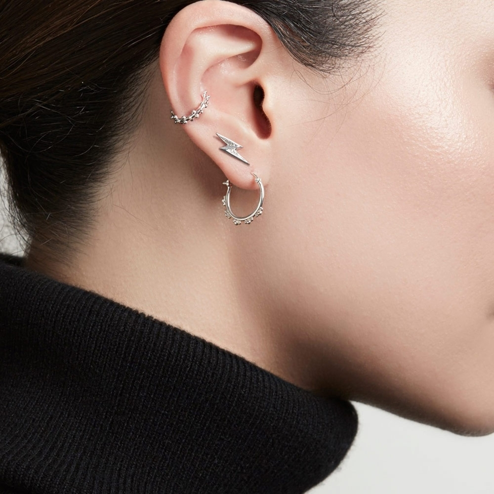 Floris Hoop Earrings