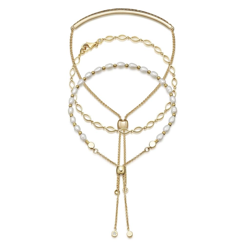 Pearls of Wisdon Bracelet Stack