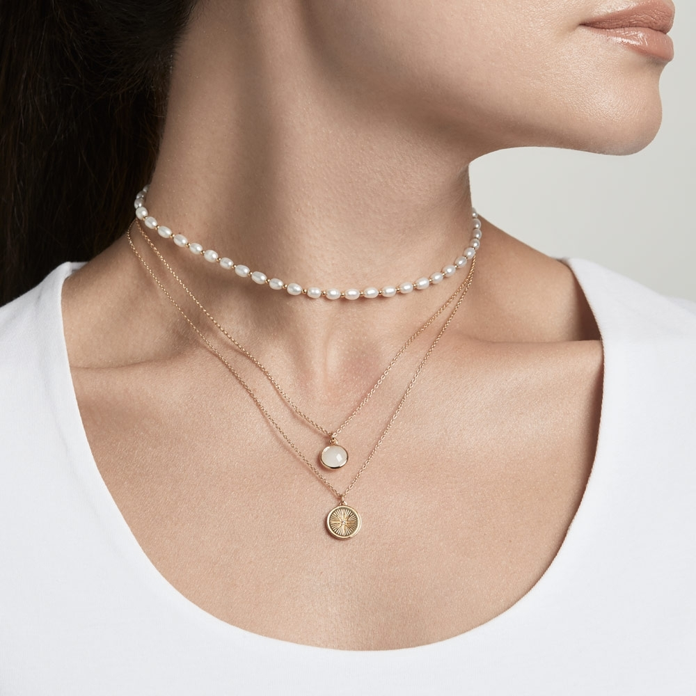 Pearls of Wisdom Necklace Stack
