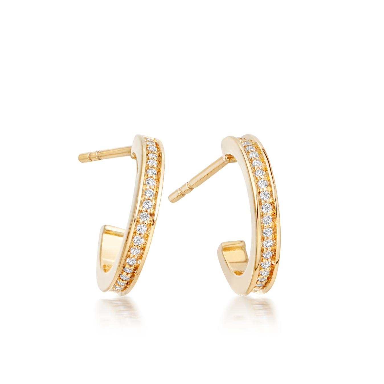 Infinity Stilla Hoop Earrings