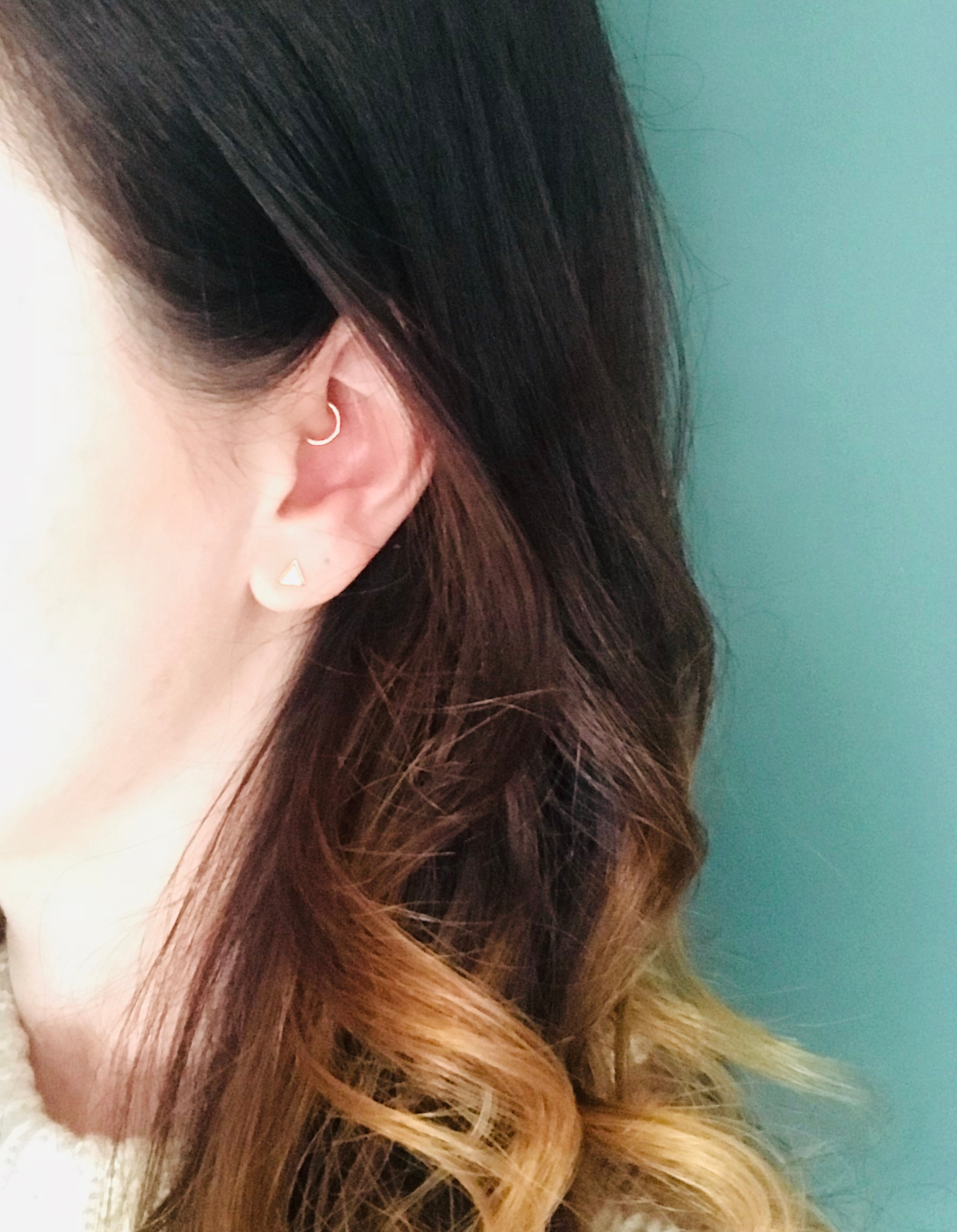 I Had Been Searching For A Quality Gold Cartilage Hoop My Daith Piercing So Long And This One Is Completely Perfect Love It